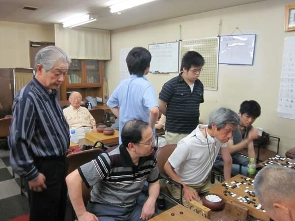 オール早稲田囲碁大会 対局風景