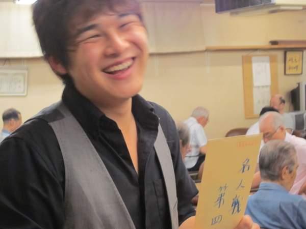 オール早稲田囲碁大会 名人戦4位岡田さん